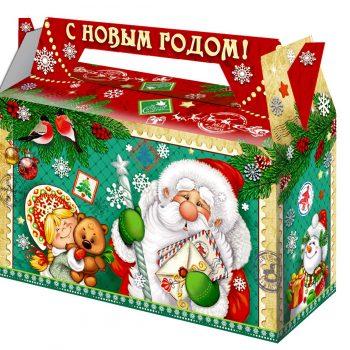 Новогодний сладкий подарок Письмо Морозу